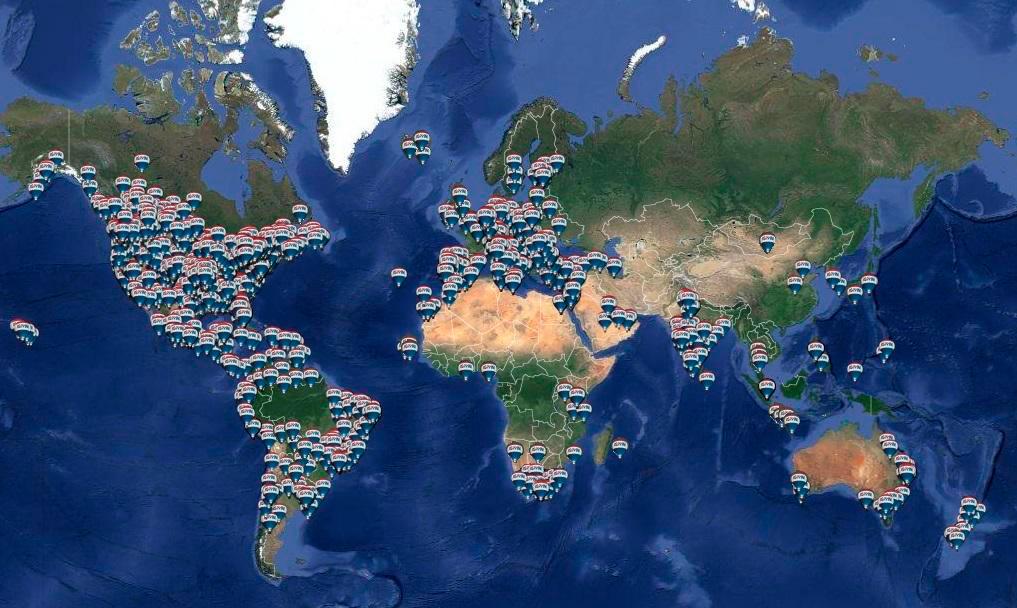 REMAX toimistot maailmalla