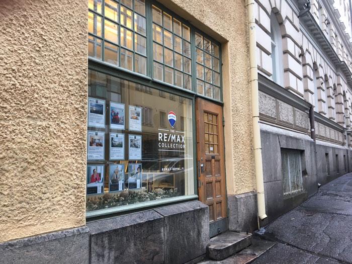 RE/MAX Royal toimisto Helsinki Unioninkatu 7